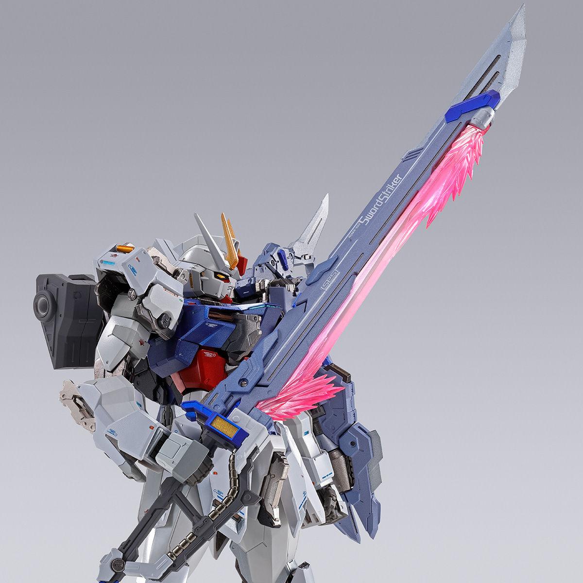 【限定販売】METAL BUILD『ソードストライカー』機動戦士ガンダムSEED 可動フィギュア-001