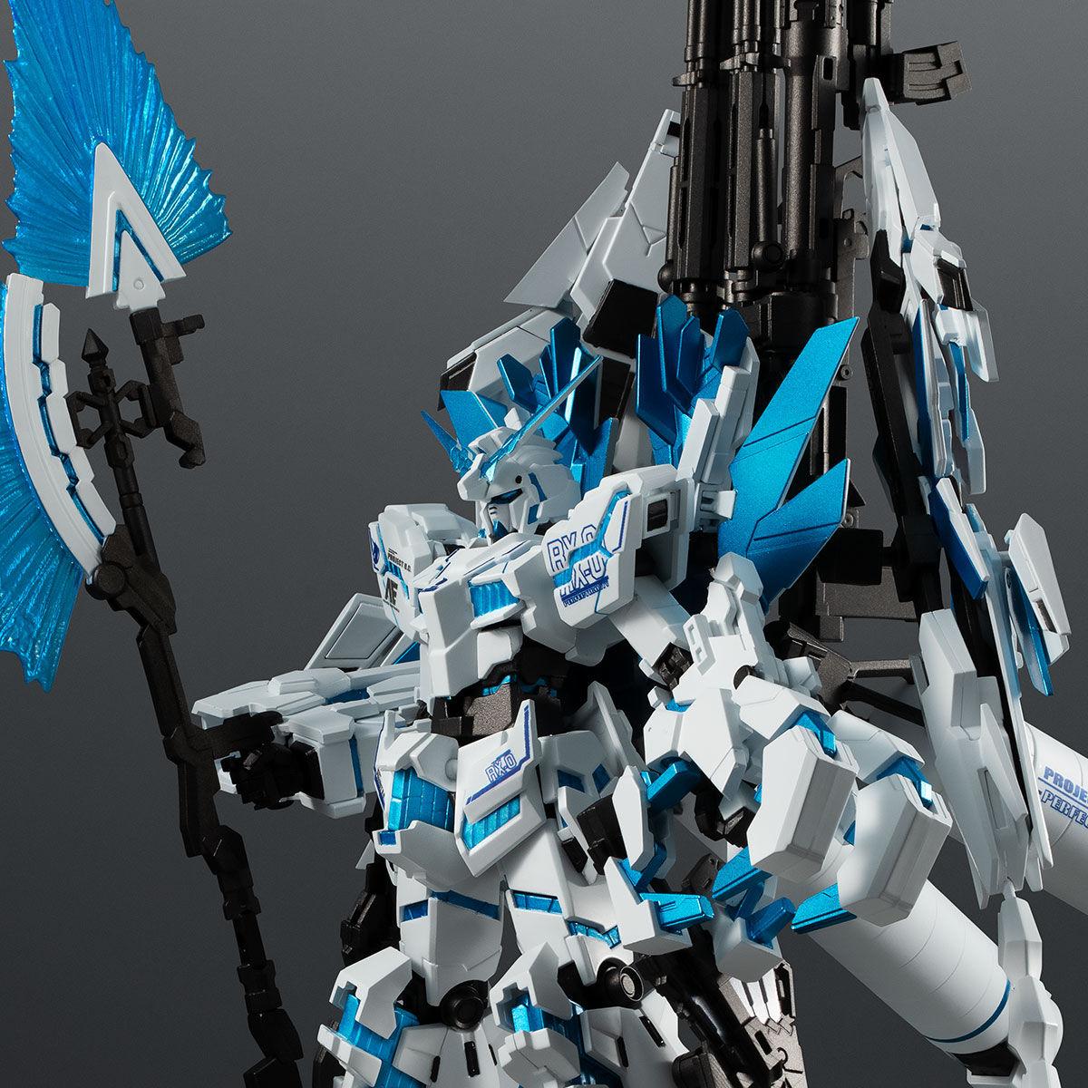 【限定販売】ROBOT魂〈SIDE MS〉『ユニコーンガンダム ペルフェクティビリティ・ディバイン』ガンダムUC 可動フィギュア-001