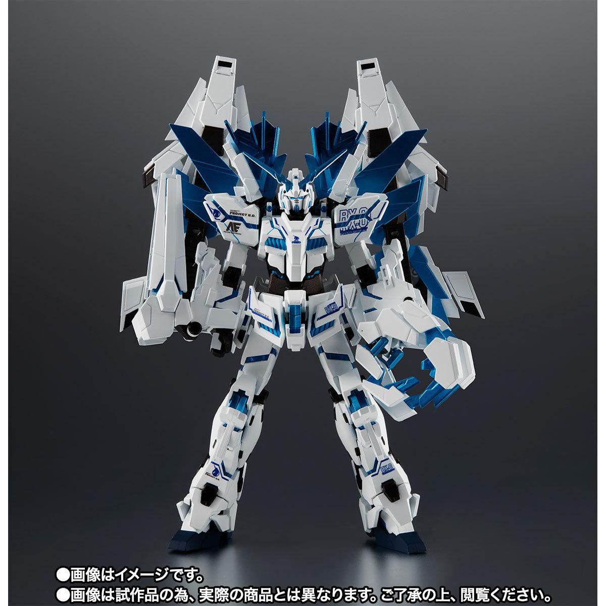 【限定販売】ROBOT魂〈SIDE MS〉『ユニコーンガンダム ペルフェクティビリティ・ディバイン』ガンダムUC 可動フィギュア-008