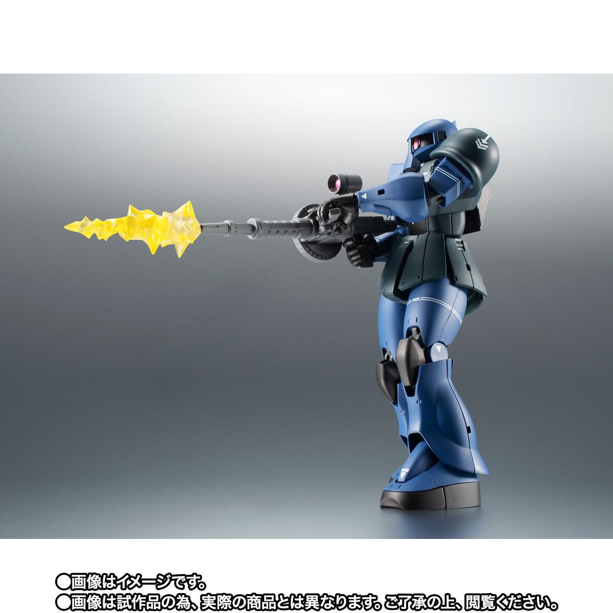 【限定販売】ROBOT魂〈SIDE MS〉『MS-05B 旧ザク ver. A.N.I.M.E. ~黒い三連星~』ガンダム 可動フィギュア-007