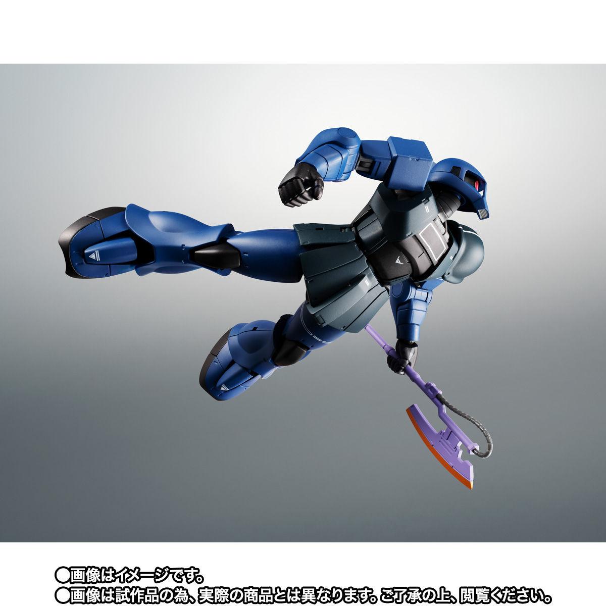 【限定販売】ROBOT魂〈SIDE MS〉『MS-05B 旧ザク ver. A.N.I.M.E. ~黒い三連星~』ガンダム 可動フィギュア-008