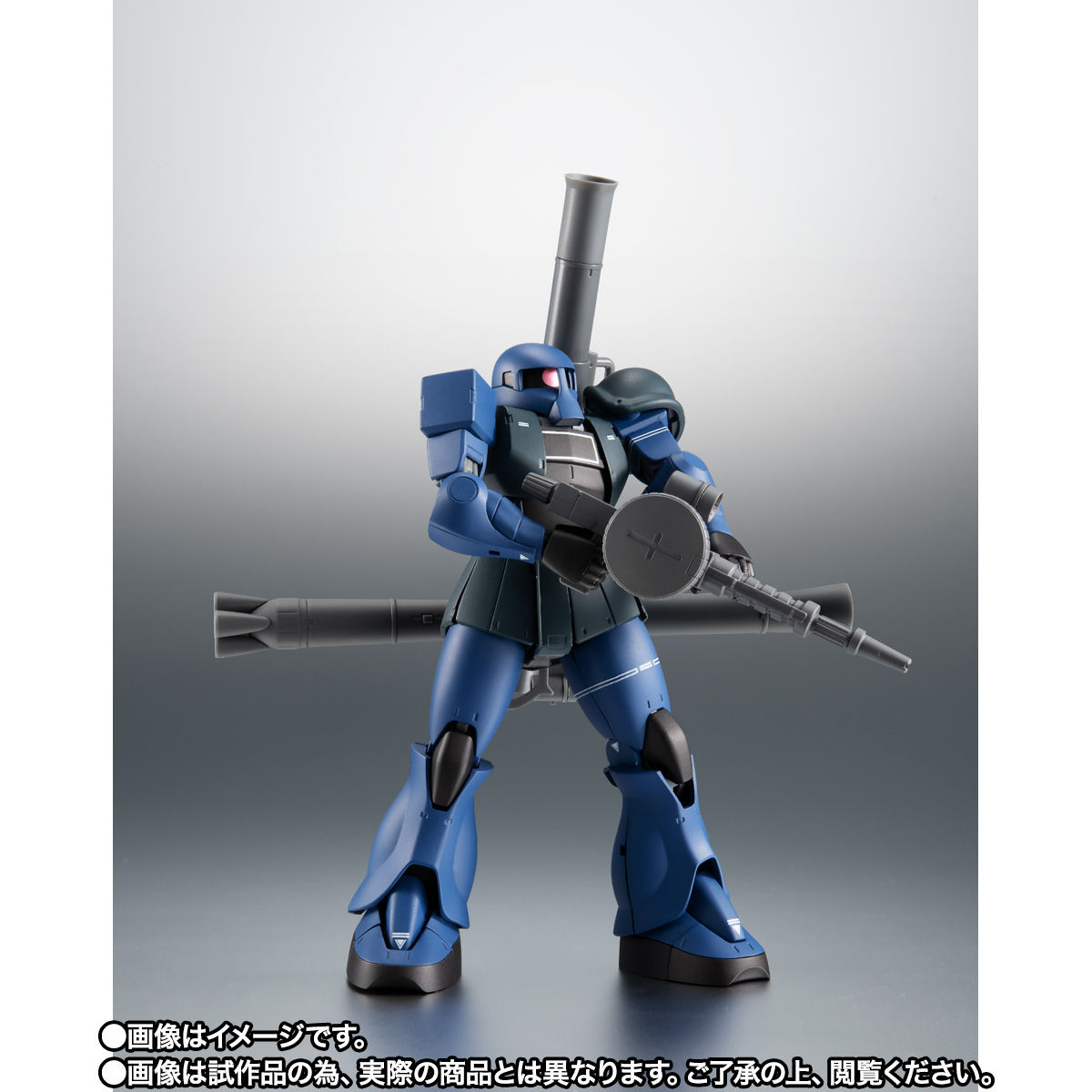 【限定販売】ROBOT魂〈SIDE MS〉『MS-05B 旧ザク ver. A.N.I.M.E. ~黒い三連星~』ガンダム 可動フィギュア-009