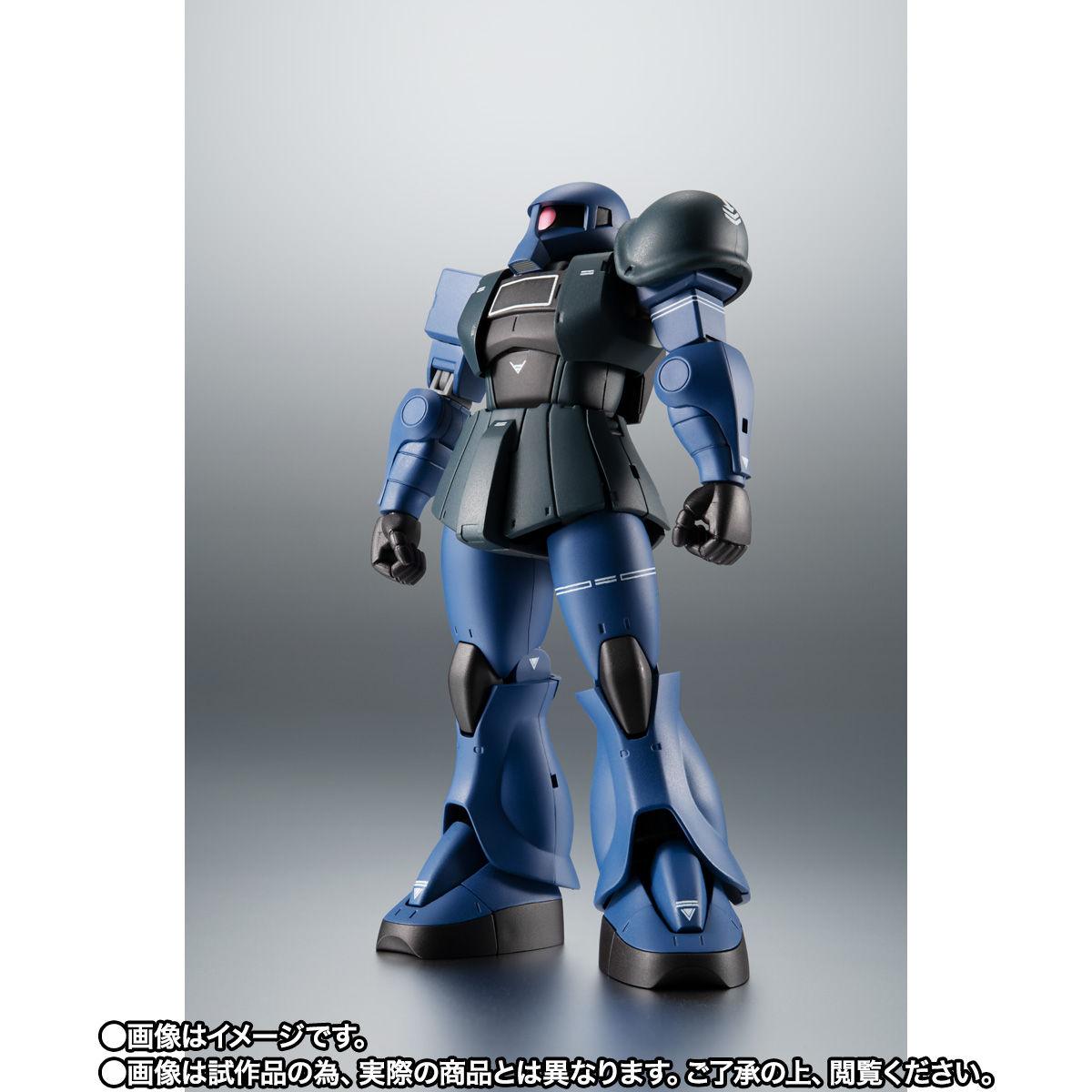 【限定販売】ROBOT魂〈SIDE MS〉『MS-05B 旧ザク ver. A.N.I.M.E. ~黒い三連星~』ガンダム 可動フィギュア-010