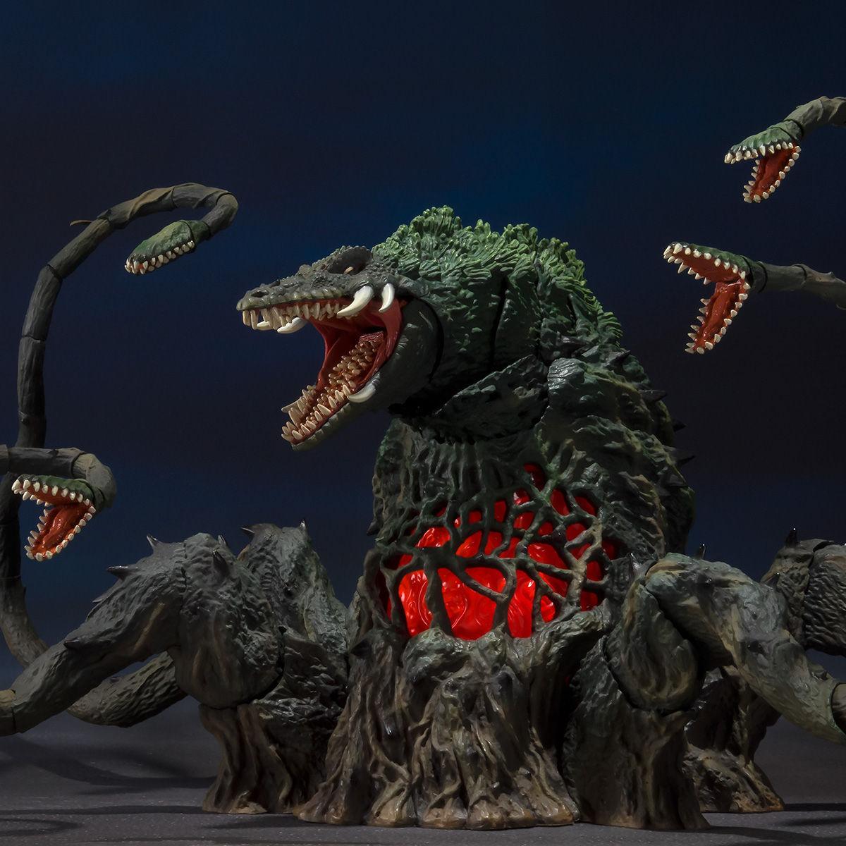 【限定販売】S.H.MonsterArts『ビオランテ Special Color Ver.』ゴジラvsビオランテ 可動フィギュア-001