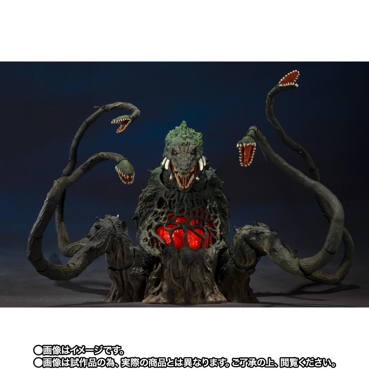 【限定販売】S.H.MonsterArts『ビオランテ Special Color Ver.』ゴジラvsビオランテ 可動フィギュア-003