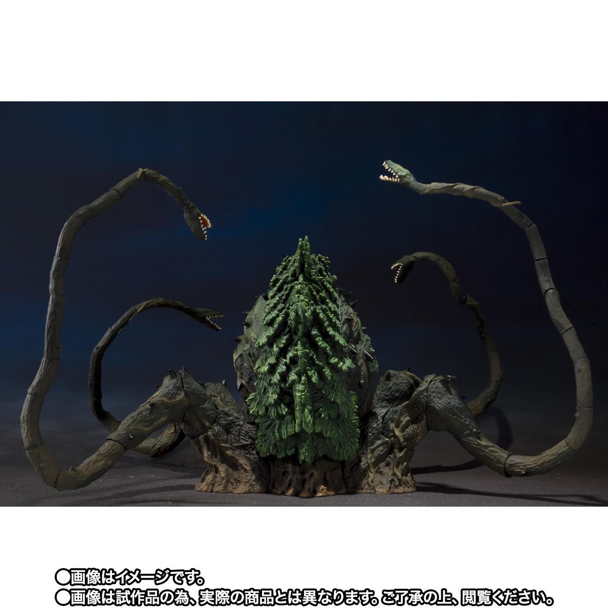 【限定販売】S.H.MonsterArts『ビオランテ Special Color Ver.』ゴジラvsビオランテ 可動フィギュア-005