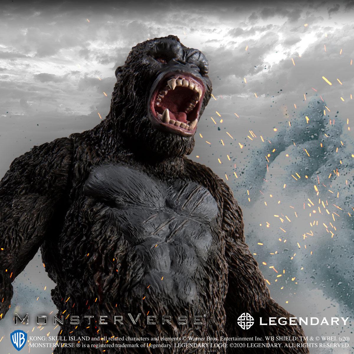 【限定販売】キングコング: 髑髏島の巨神『KONG SKULL ISLAND』ソフビフィギュア-007