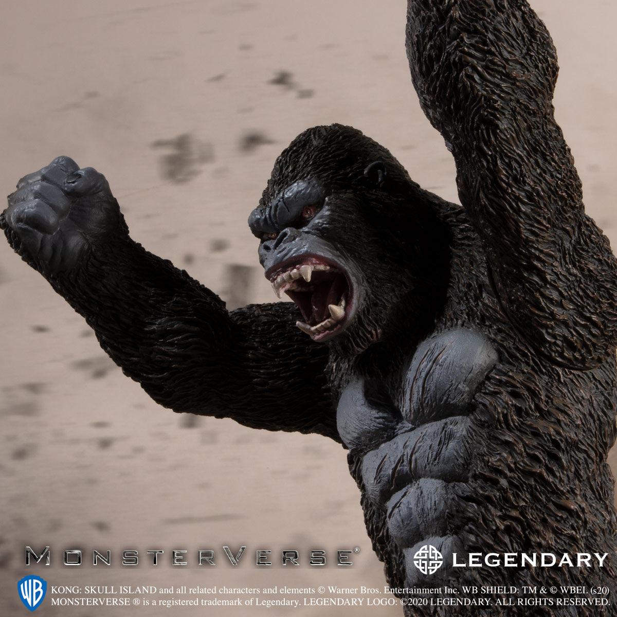 【限定販売】キングコング: 髑髏島の巨神『KONG SKULL ISLAND』ソフビフィギュア-008