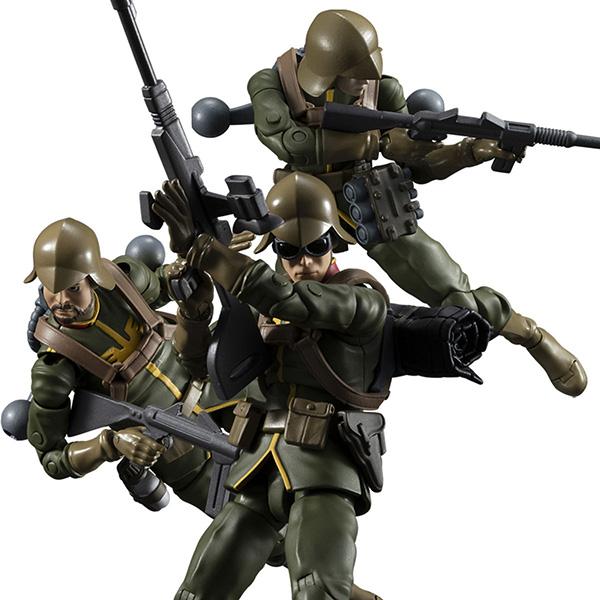 【限定販売】G.M.G. ガンダムミリタリージェネレーション『ジオン公国軍一般兵士セット』ボックス