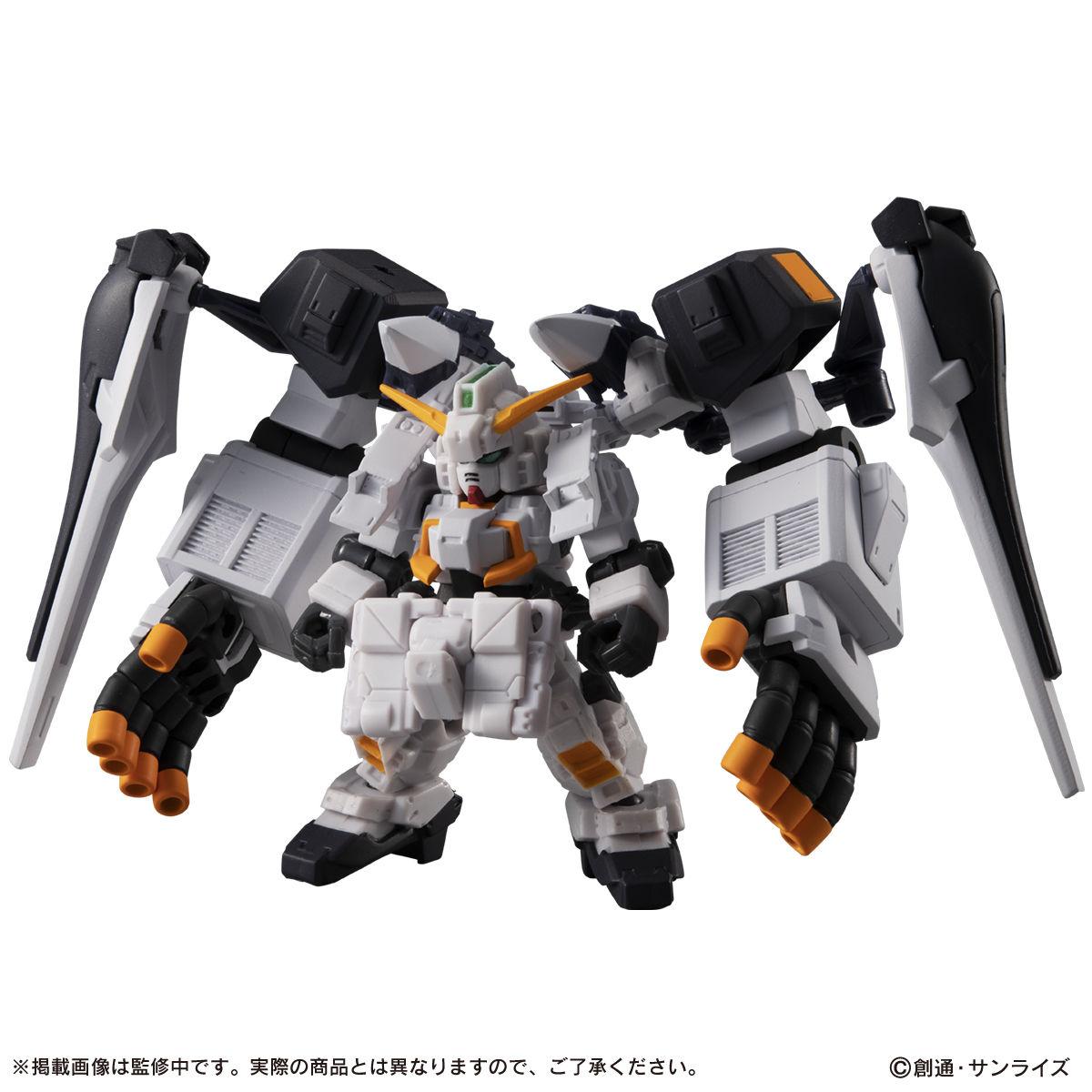 【限定販売】MOBILE SUIT ENSEMBLE『EX22 ギガンティック・アーム・ユニット装備セット』デフォルメ可動フィギュア-002