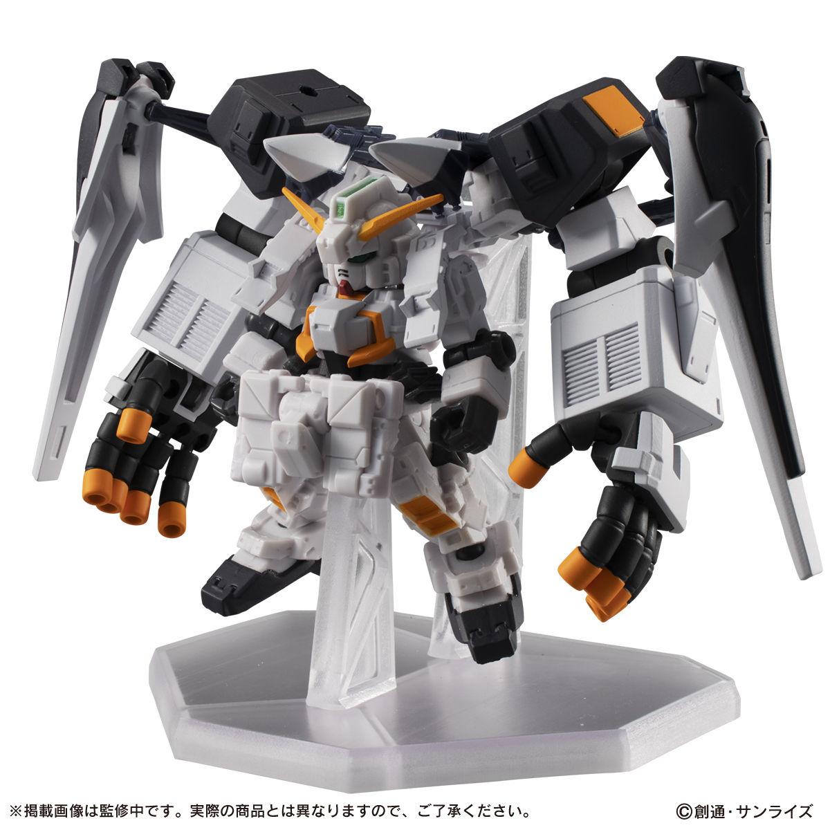 【限定販売】MOBILE SUIT ENSEMBLE『EX22 ギガンティック・アーム・ユニット装備セット』デフォルメ可動フィギュア-004