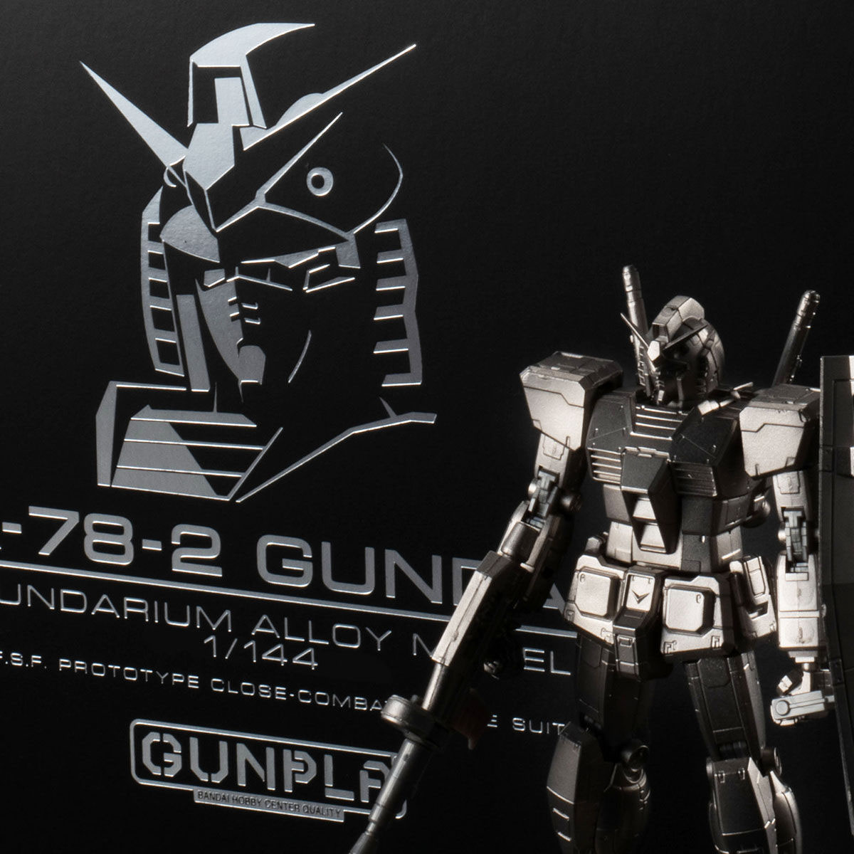 【限定販売】ガンダリウム合金モデル『RX-78-2 ガンダム』1/144 合金モデル-001