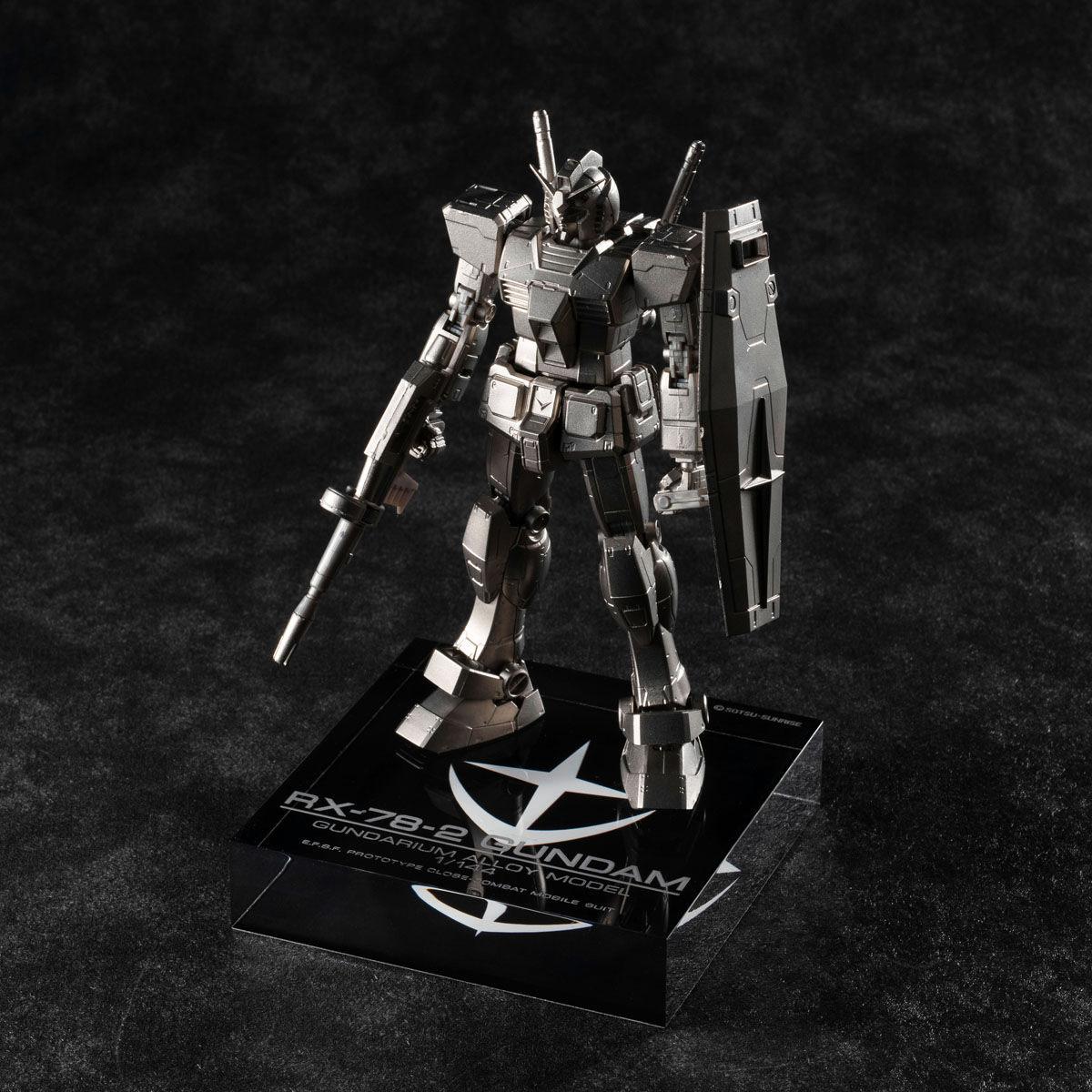 【限定販売】ガンダリウム合金モデル『RX-78-2 ガンダム』1/144 合金モデル-006