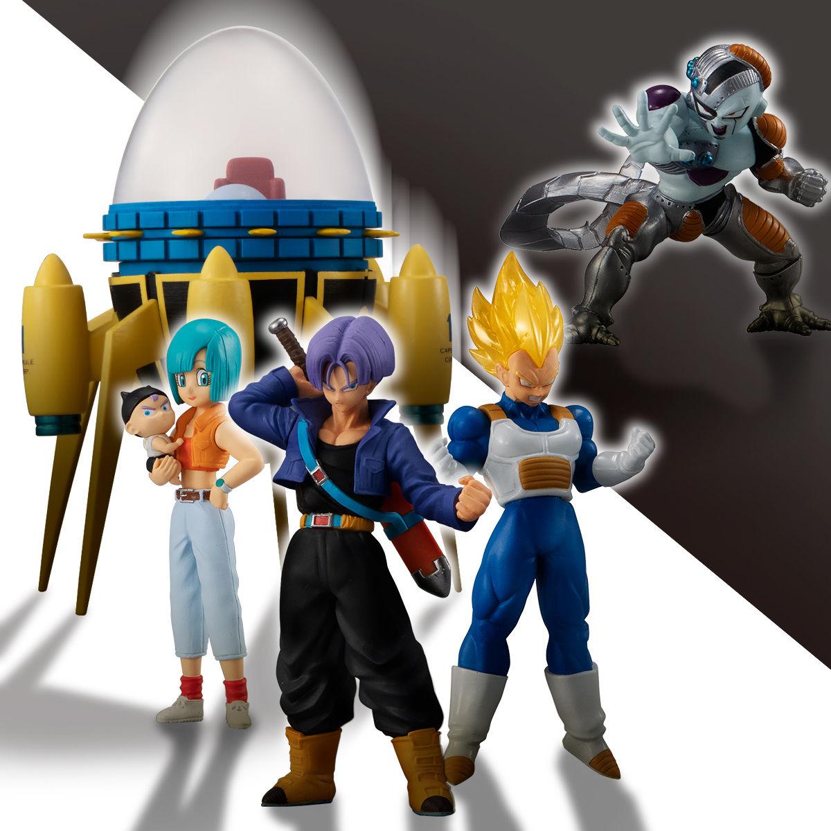 【限定販売】HGシリーズ『HGドラゴンボール もう一人の超サイヤ人編』全3種+タイムマシン-009