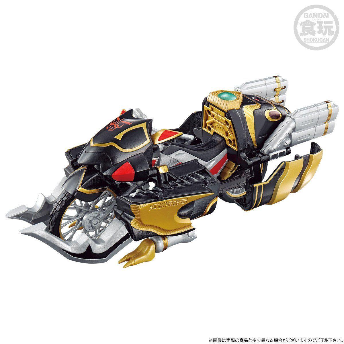 【限定販売】【食玩】SO-DO CHRONICLE『仮面ライダークウガトライチェイサー2000&装甲機ゴウラムセット』可動フィギュア-004