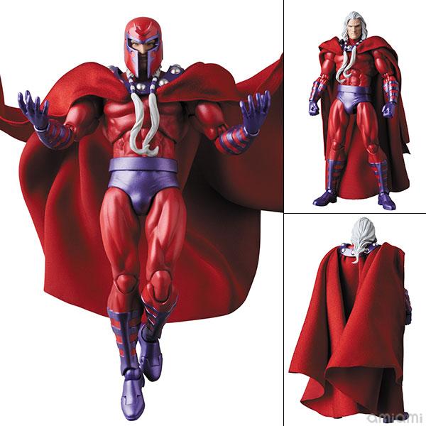 マフェックス No.128『MAGNETO COMIC Ver./マグニートー コミック版』X-MEN 可動フィギュア