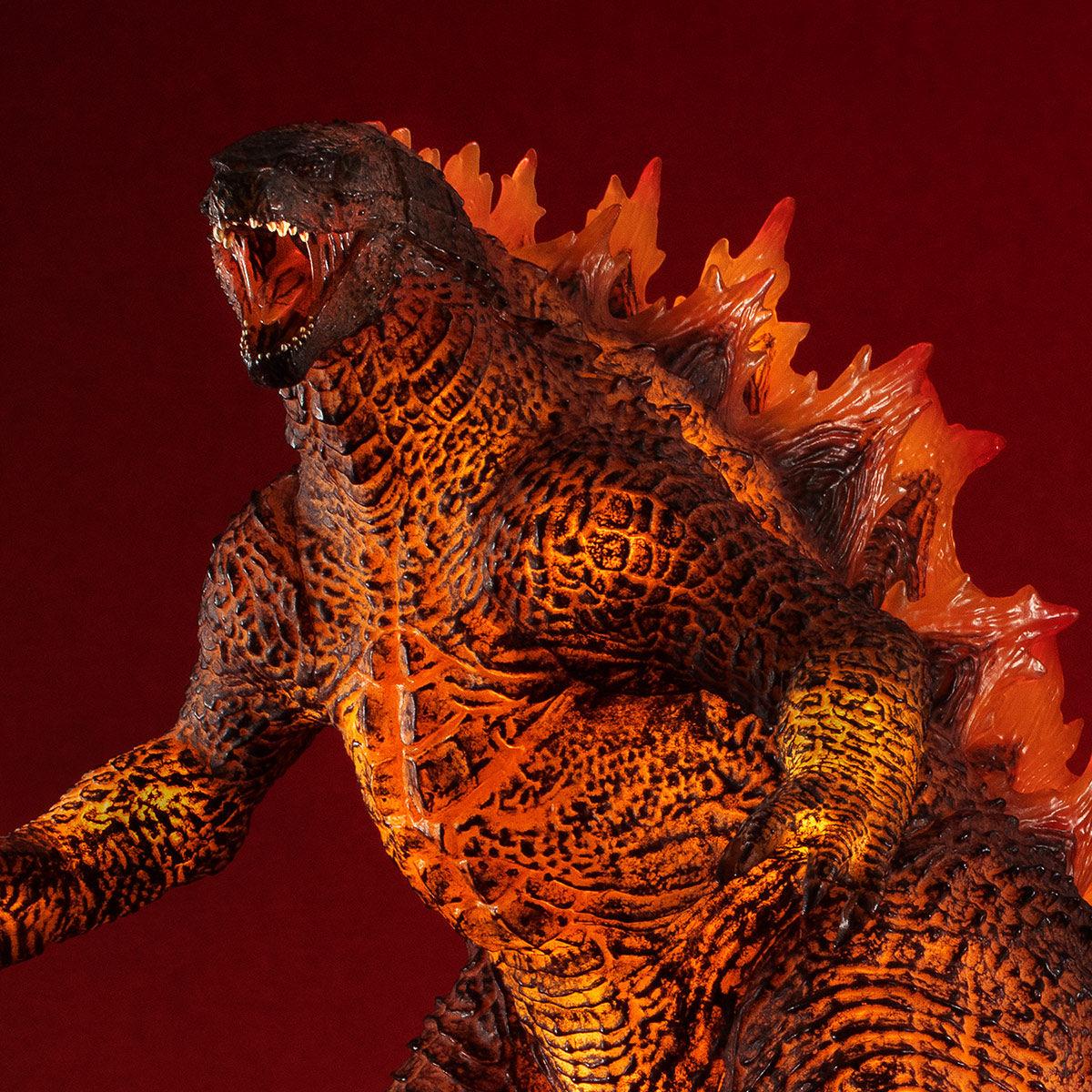 【限定販売】UA Monsters『バーニング・ゴジラ 2019(GODZILLA II)』ゴジラ キング・オブ・モンスターズ 完成品フィギュア-001