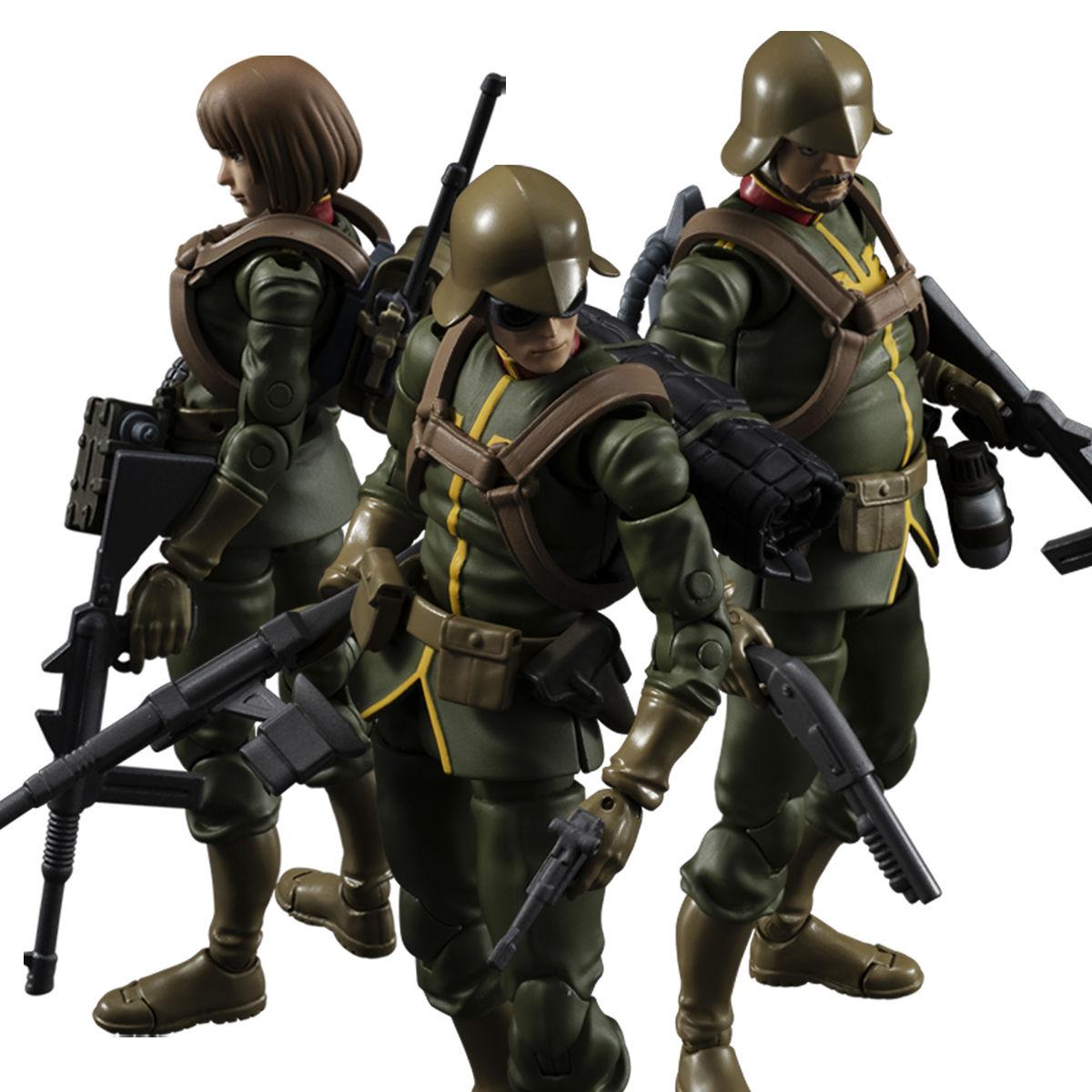 G.M.G. ガンダムミリタリージェネレーション『ジオン公国軍一般兵士01』1/18 可動フィギュア-001