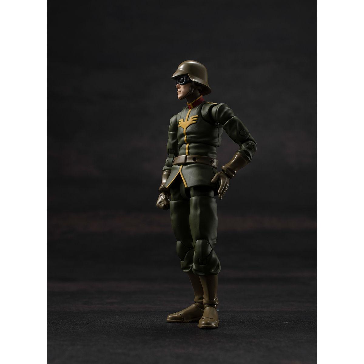 G.M.G. ガンダムミリタリージェネレーション『ジオン公国軍一般兵士01』1/18 可動フィギュア-002