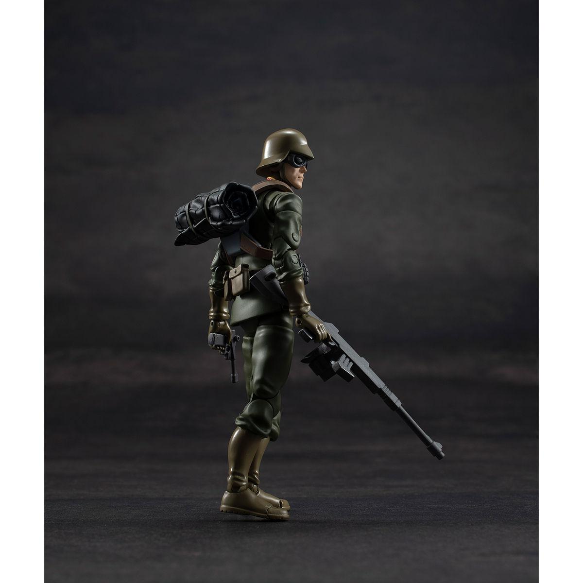 G.M.G. ガンダムミリタリージェネレーション『ジオン公国軍一般兵士01』1/18 可動フィギュア-004