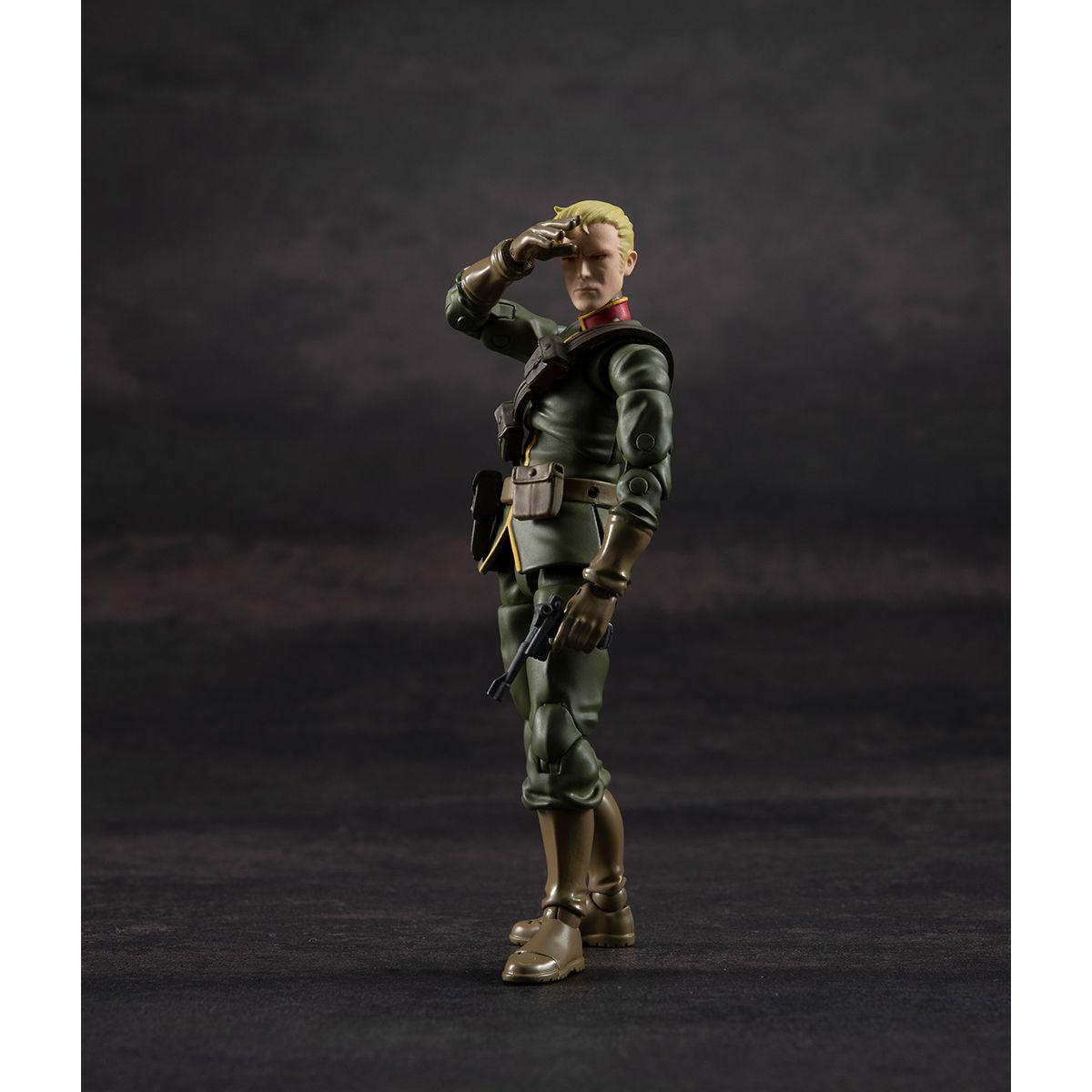 G.M.G. ガンダムミリタリージェネレーション『ジオン公国軍一般兵士01』1/18 可動フィギュア-006
