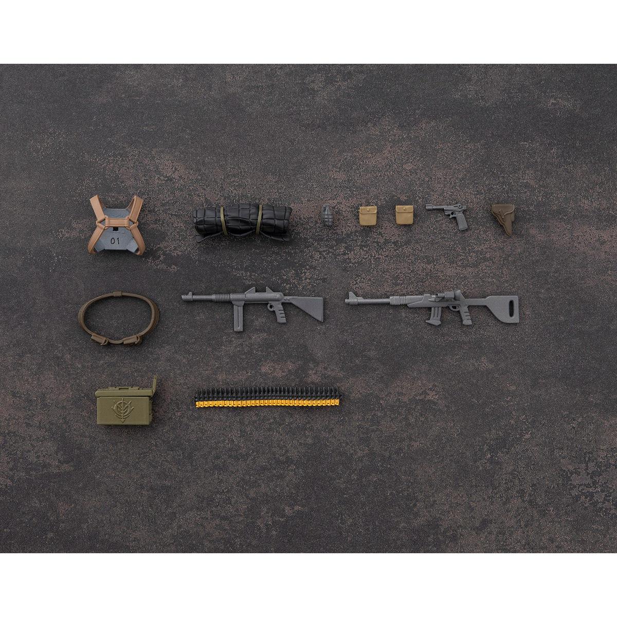 G.M.G. ガンダムミリタリージェネレーション『ジオン公国軍一般兵士01』1/18 可動フィギュア-007