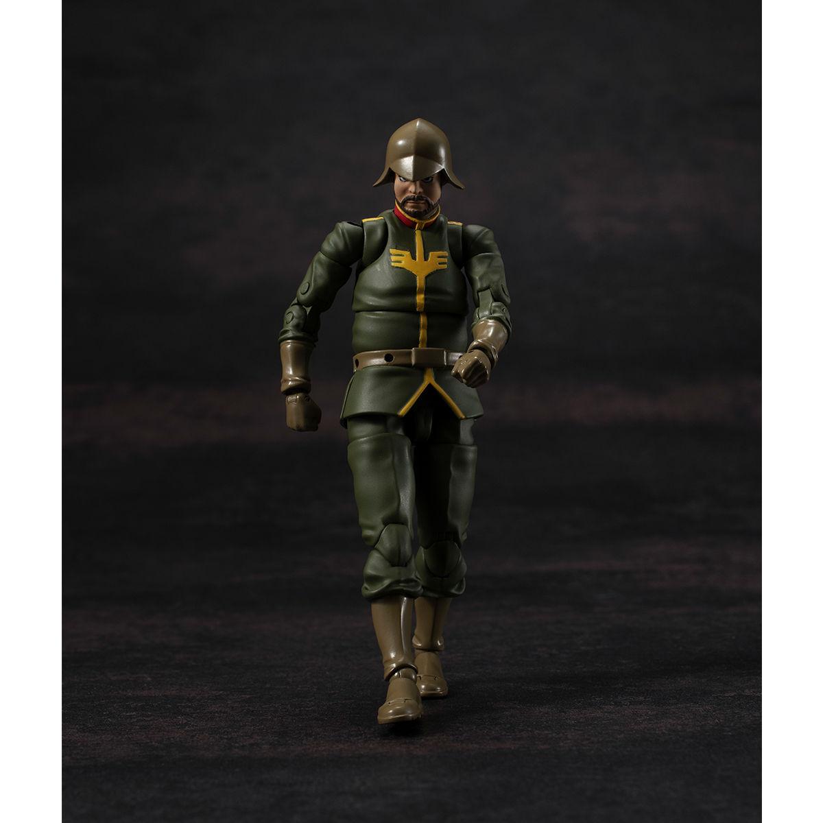 G.M.G. ガンダムミリタリージェネレーション『ジオン公国軍一般兵士01』1/18 可動フィギュア-009
