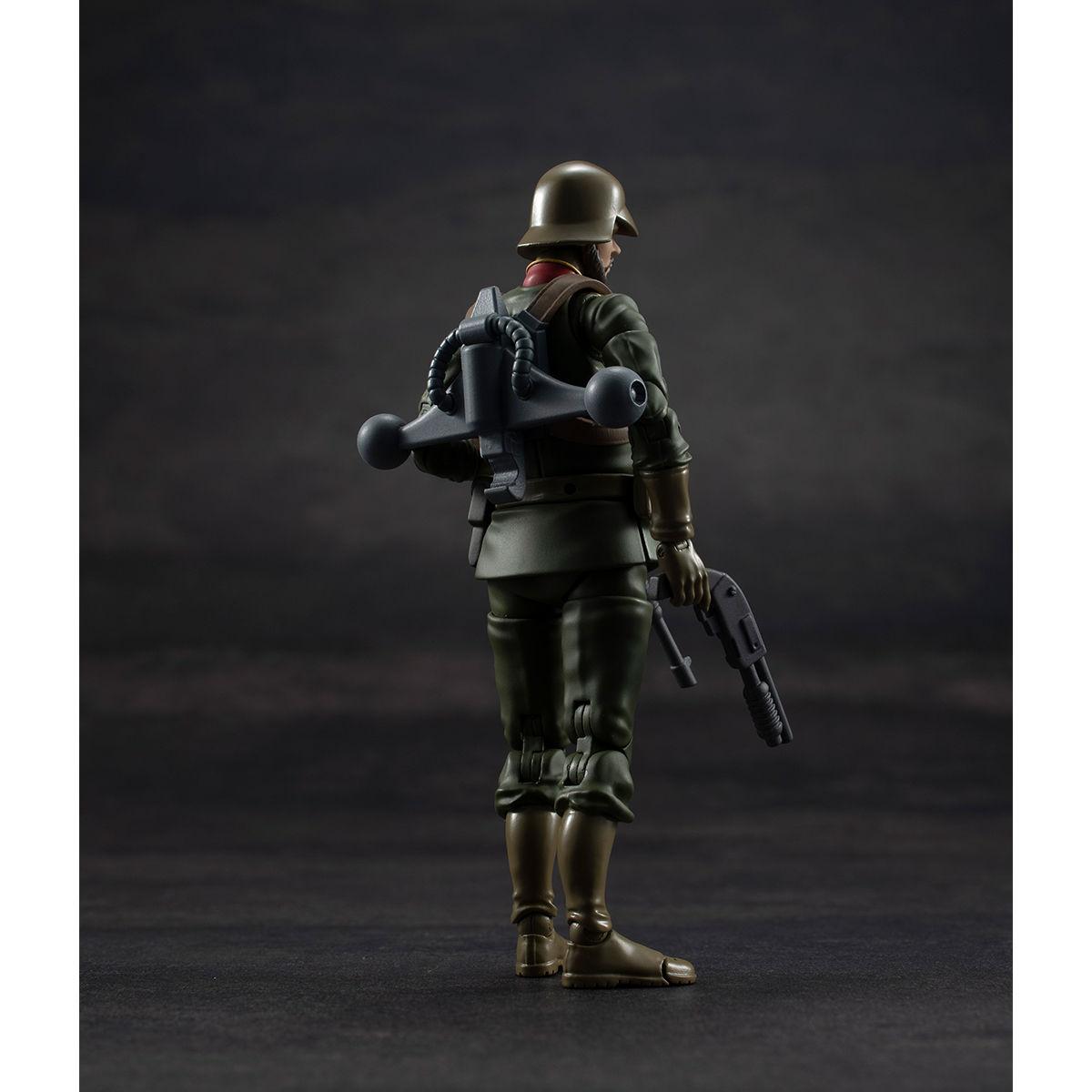 G.M.G. ガンダムミリタリージェネレーション『ジオン公国軍一般兵士01』1/18 可動フィギュア-011