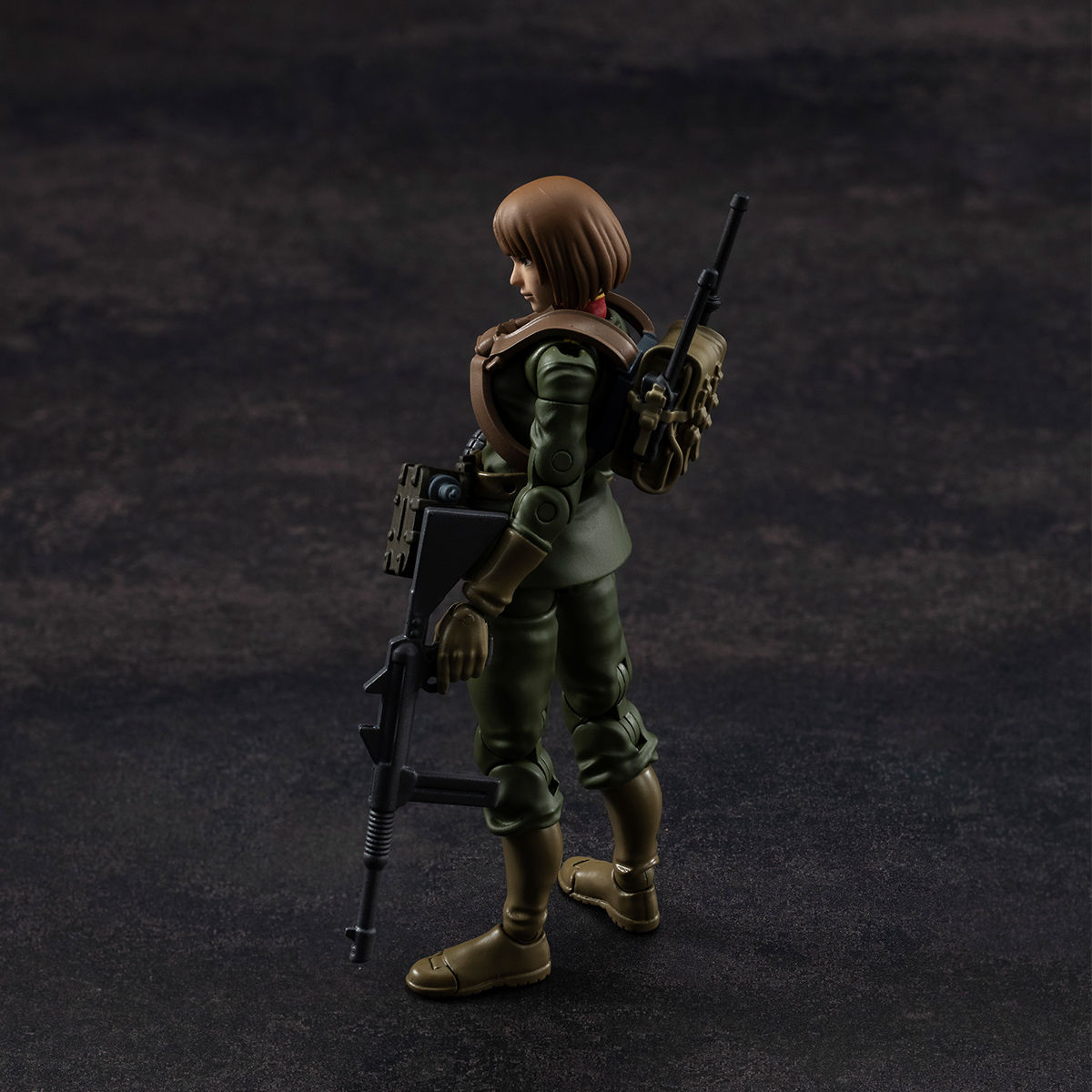G.M.G. ガンダムミリタリージェネレーション『ジオン公国軍一般兵士01』1/18 可動フィギュア-018