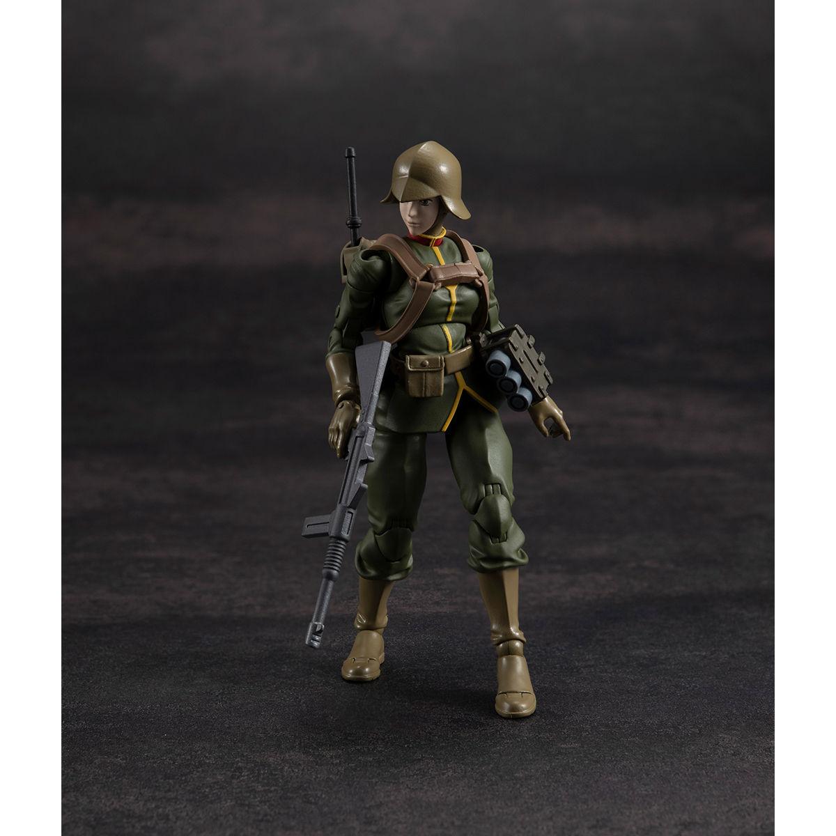 G.M.G. ガンダムミリタリージェネレーション『ジオン公国軍一般兵士01』1/18 可動フィギュア-020
