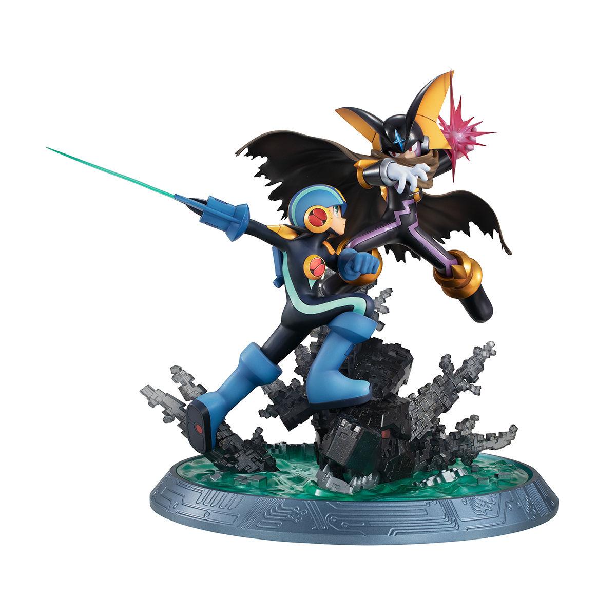 【限定販売】ゲームキャラクターズコレクションDX『ロックマン vs フォルテ』完成品フィギュア-003