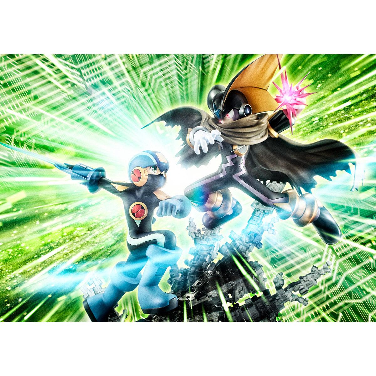 【限定販売】ゲームキャラクターズコレクションDX『ロックマン vs フォルテ』完成品フィギュア-010