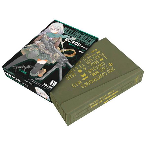 リトルアーモリー LS03『M240西部愛ミッションパック』1/12 プラモデル