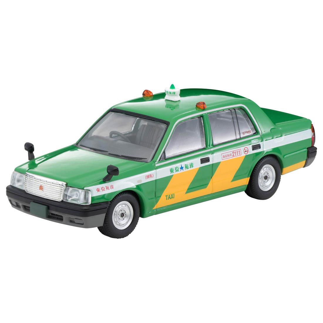 トミカリミテッド ヴィンテージ ネオ TLV-NEO『LV-N218a トヨタ クラウンコンフォート 東京無線タクシー(緑)』1/64 ミニカー-001