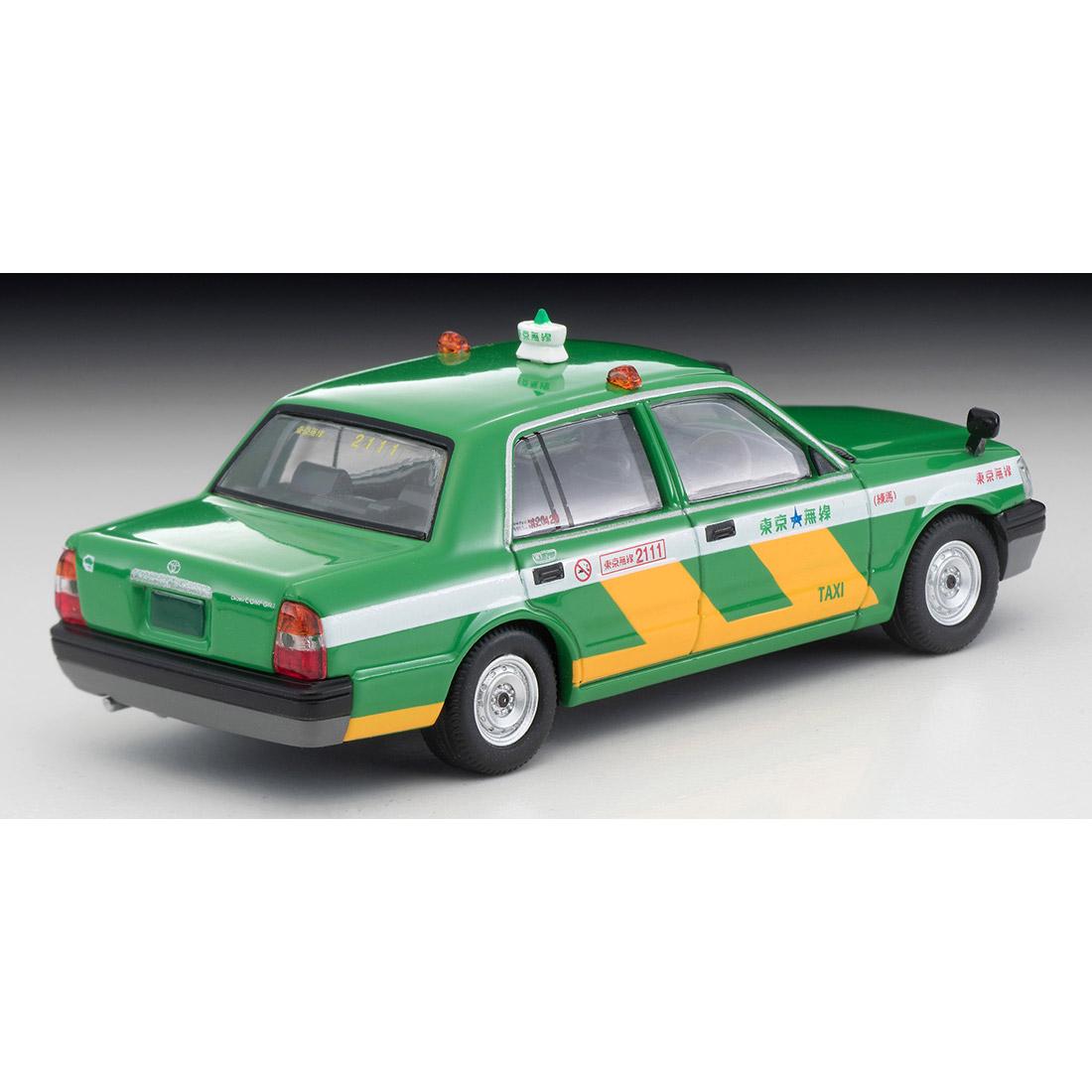 トミカリミテッド ヴィンテージ ネオ TLV-NEO『LV-N218a トヨタ クラウンコンフォート 東京無線タクシー(緑)』1/64 ミニカー-002