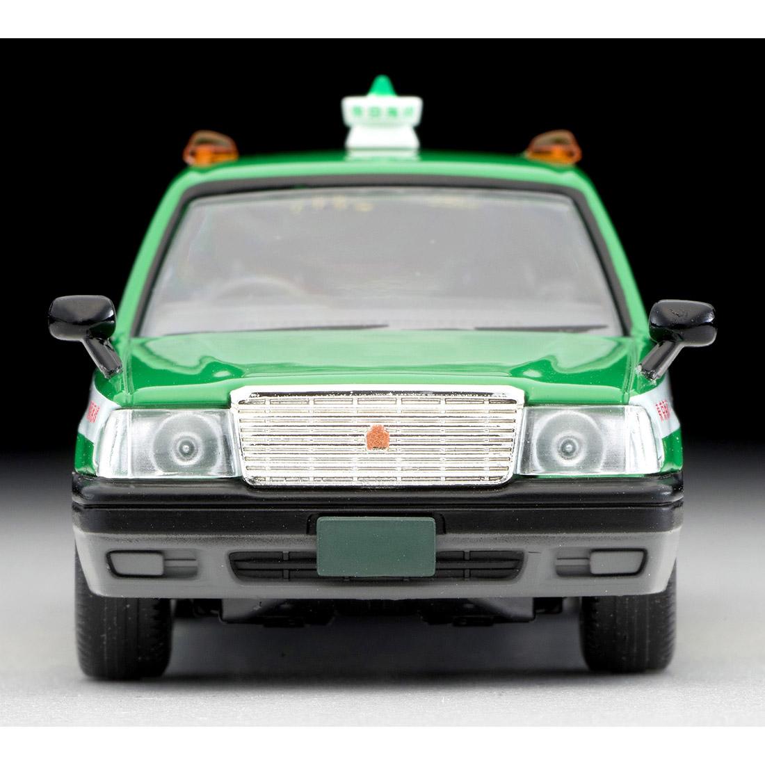トミカリミテッド ヴィンテージ ネオ TLV-NEO『LV-N218a トヨタ クラウンコンフォート 東京無線タクシー(緑)』1/64 ミニカー-003