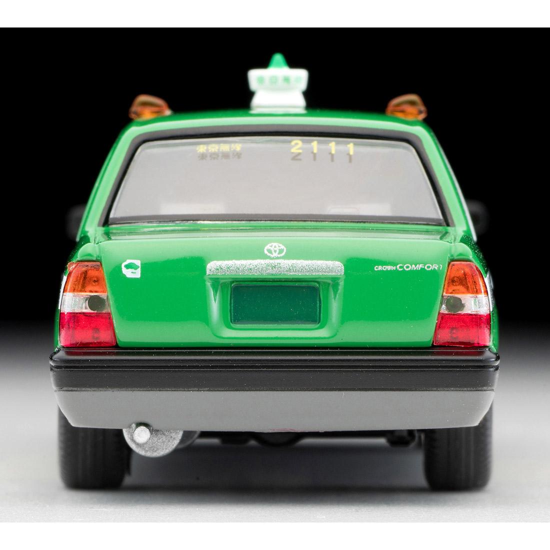 トミカリミテッド ヴィンテージ ネオ TLV-NEO『LV-N218a トヨタ クラウンコンフォート 東京無線タクシー(緑)』1/64 ミニカー-004