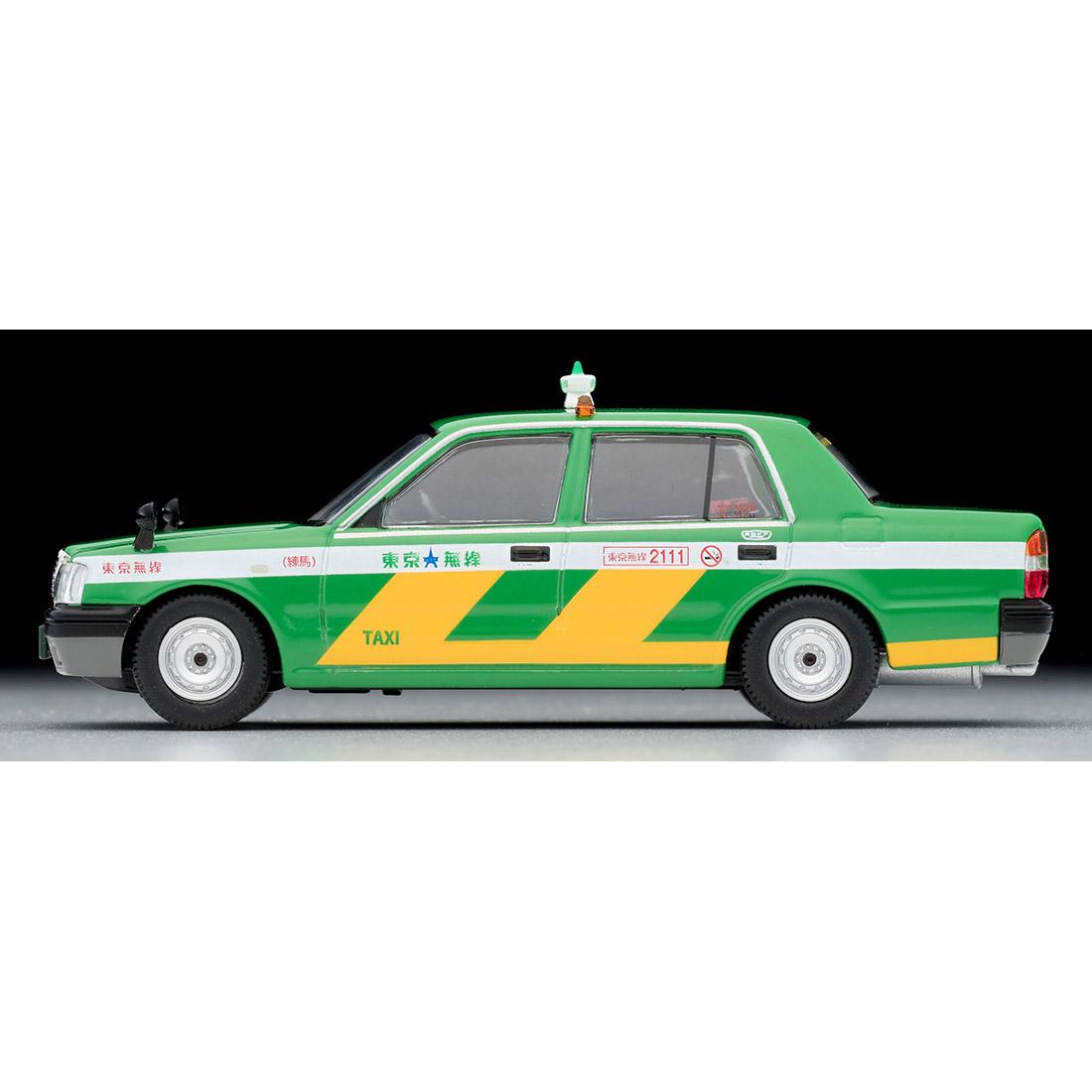 トミカリミテッド ヴィンテージ ネオ TLV-NEO『LV-N218a トヨタ クラウンコンフォート 東京無線タクシー(緑)』1/64 ミニカー-005
