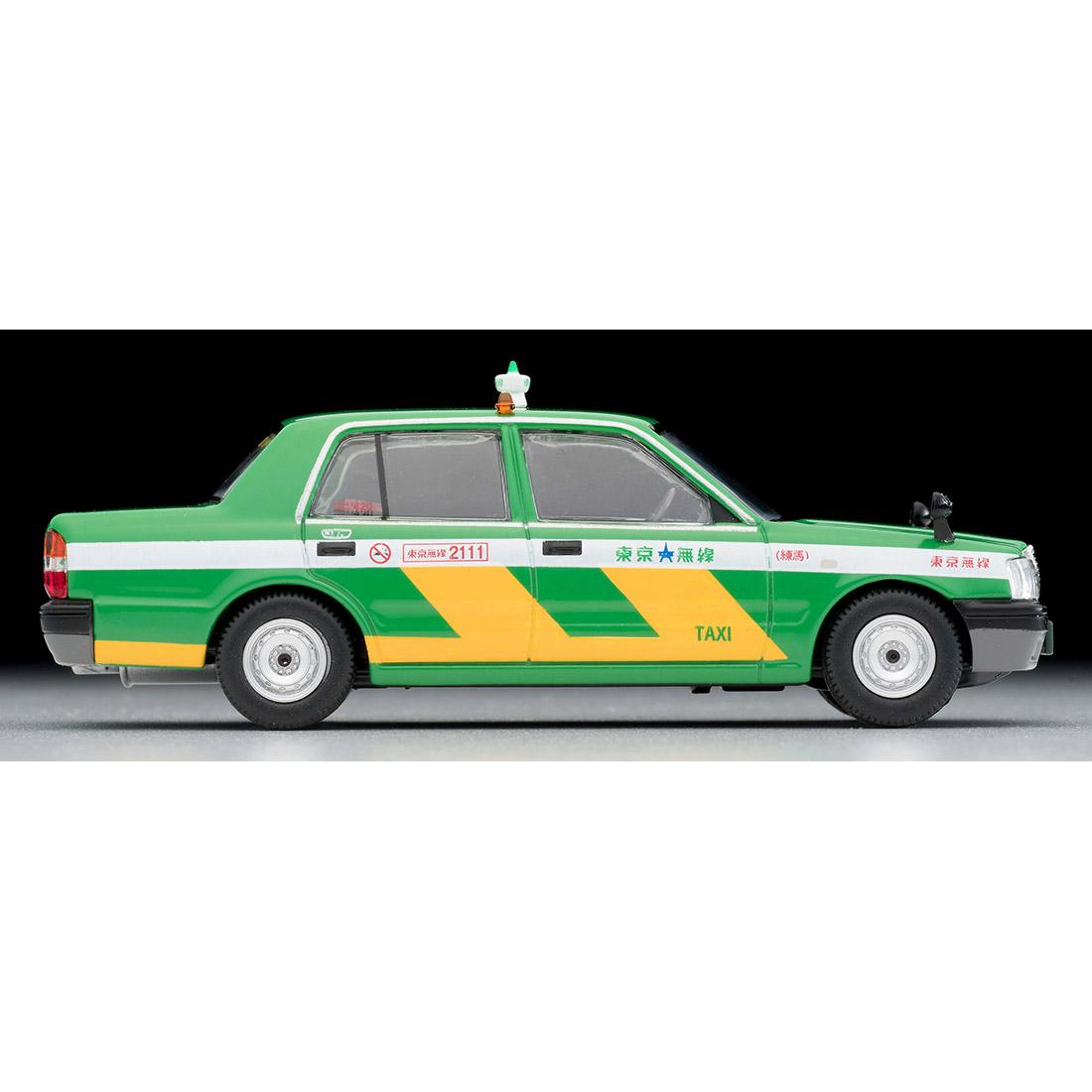 トミカリミテッド ヴィンテージ ネオ TLV-NEO『LV-N218a トヨタ クラウンコンフォート 東京無線タクシー(緑)』1/64 ミニカー-006