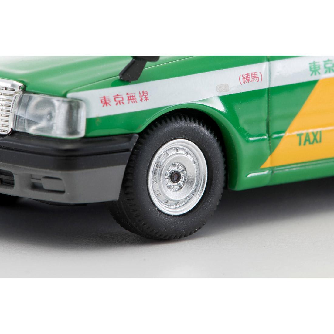 トミカリミテッド ヴィンテージ ネオ TLV-NEO『LV-N218a トヨタ クラウンコンフォート 東京無線タクシー(緑)』1/64 ミニカー-007