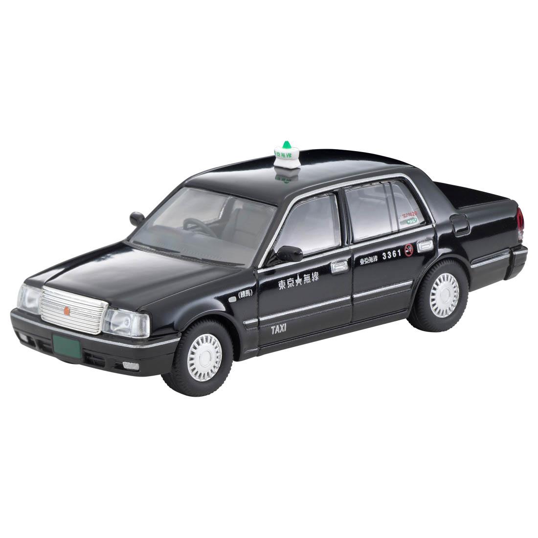 トミカリミテッド ヴィンテージ ネオ TLV-NEO『LV-N218a トヨタ クラウンコンフォート 東京無線タクシー(緑)』1/64 ミニカー-010