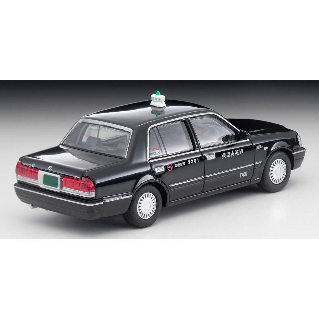 トミカリミテッド ヴィンテージ ネオ TLV-NEO『LV-N218a トヨタ クラウンコンフォート 東京無線タクシー(緑)』1/64 ミニカー-011