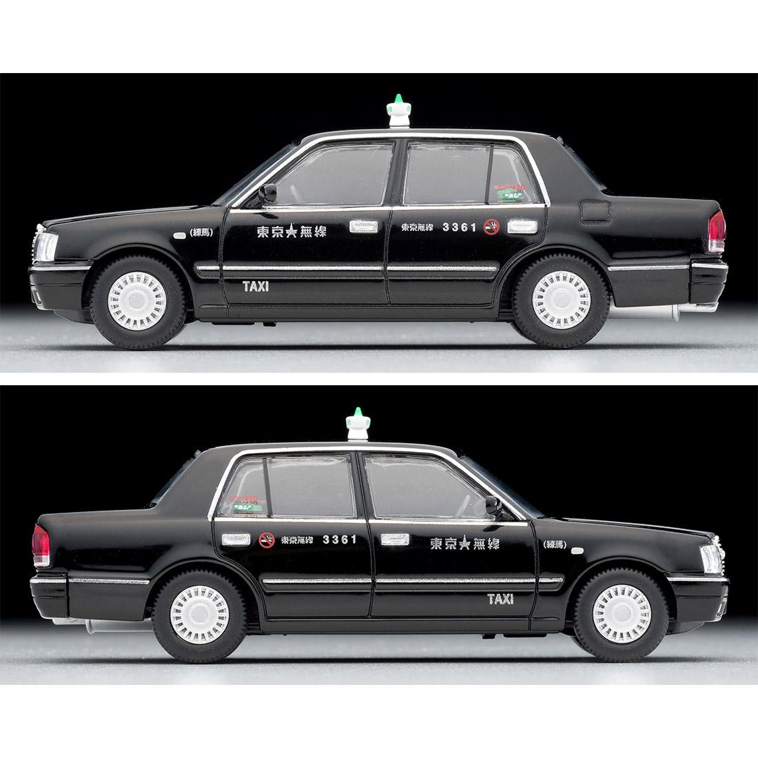 トミカリミテッド ヴィンテージ ネオ TLV-NEO『LV-N218a トヨタ クラウンコンフォート 東京無線タクシー(緑)』1/64 ミニカー-014