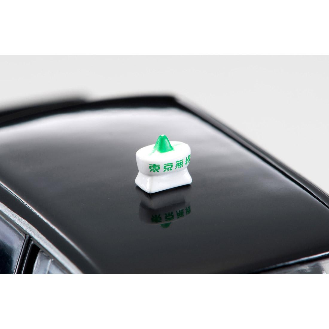 トミカリミテッド ヴィンテージ ネオ TLV-NEO『LV-N218a トヨタ クラウンコンフォート 東京無線タクシー(緑)』1/64 ミニカー-016
