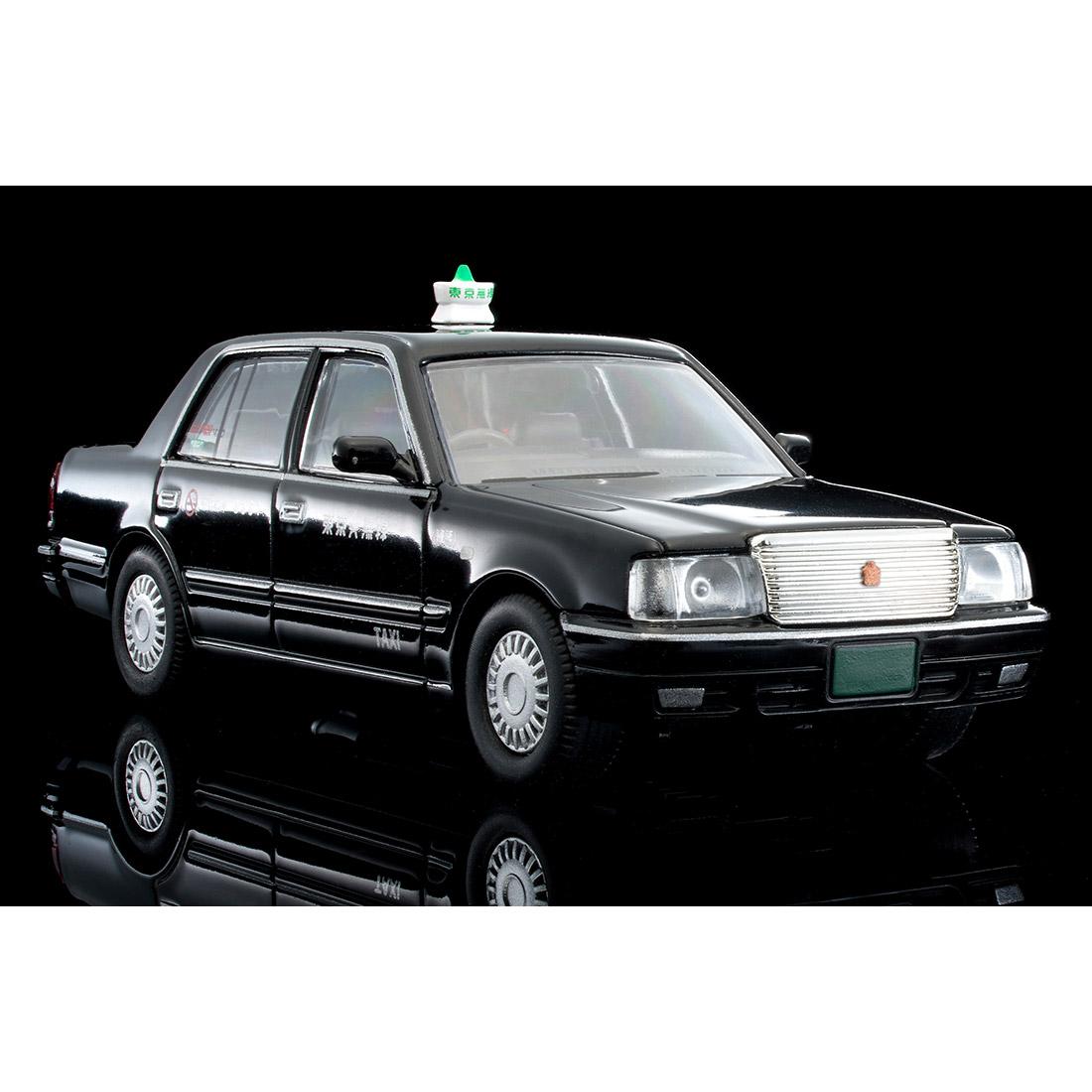 トミカリミテッド ヴィンテージ ネオ TLV-NEO『LV-N218a トヨタ クラウンコンフォート 東京無線タクシー(緑)』1/64 ミニカー-017