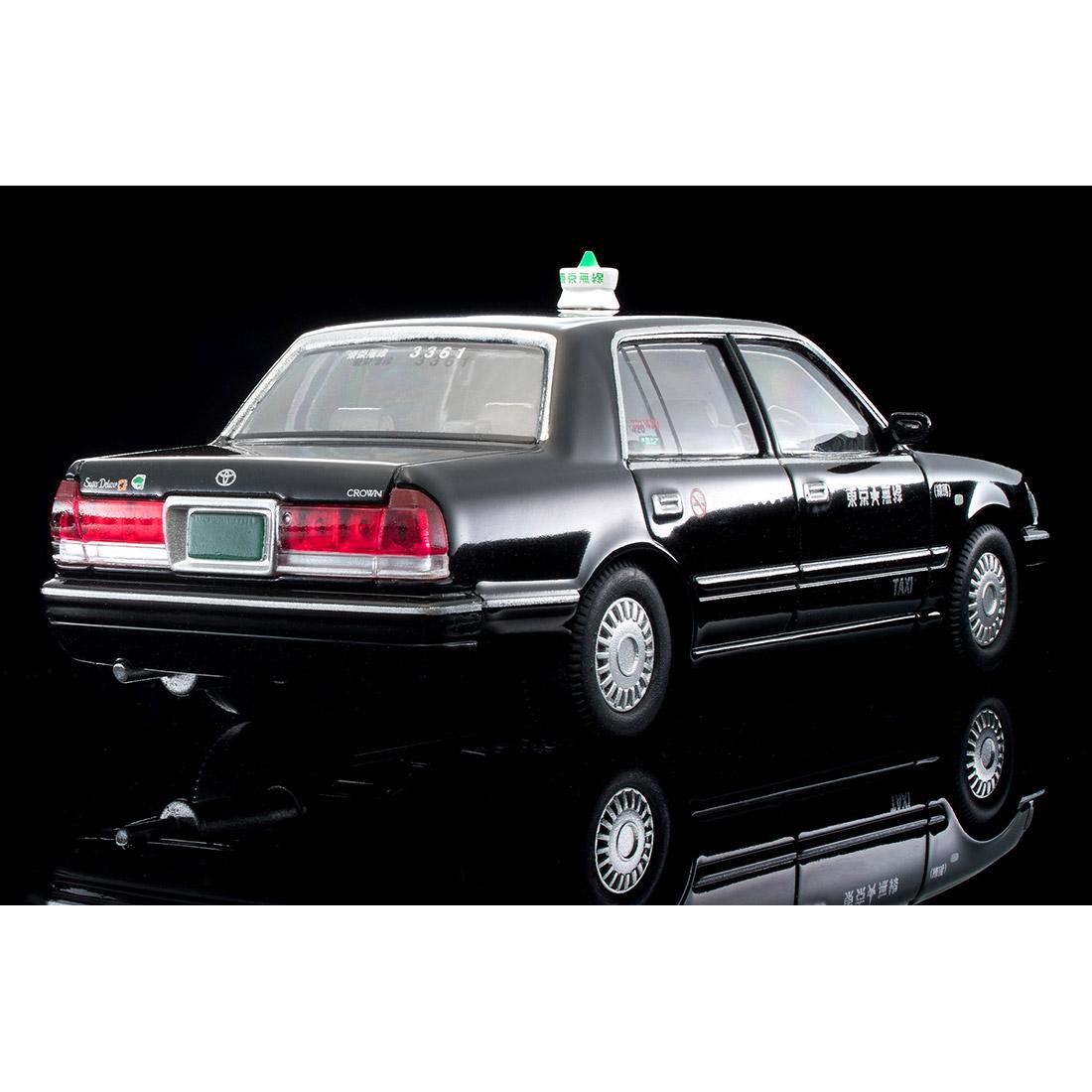 トミカリミテッド ヴィンテージ ネオ TLV-NEO『LV-N218a トヨタ クラウンコンフォート 東京無線タクシー(緑)』1/64 ミニカー-018