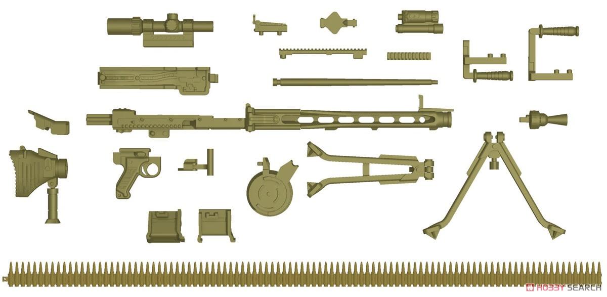 リトルアーモリー LA064『MG3KWSタイプ』1/12 プラモデル-002
