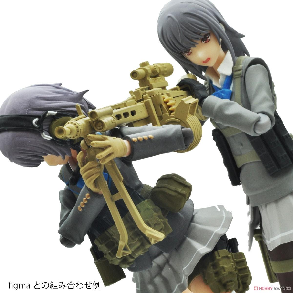 リトルアーモリー LA064『MG3KWSタイプ』1/12 プラモデル-008