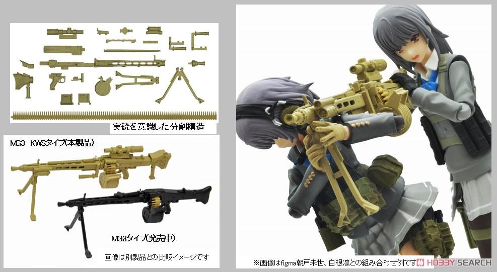 リトルアーモリー LA064『MG3KWSタイプ』1/12 プラモデル-015