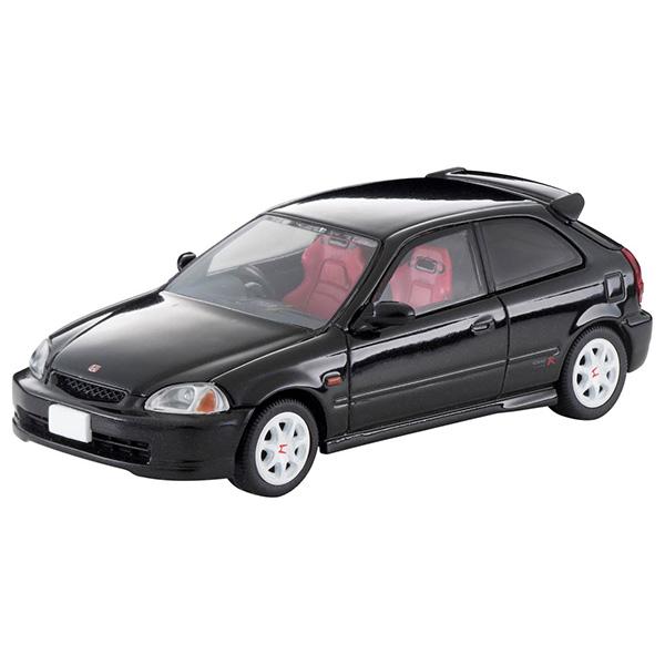 トミカリミテッド ヴィンテージ ネオ TLV-NEO『LV-N158c ホンダ シビック タイプR 97年式(黒)』1/64 ミニカー